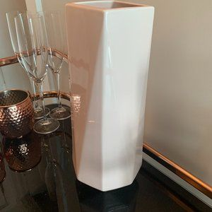 Light Pink West Elm Vase (Tall)